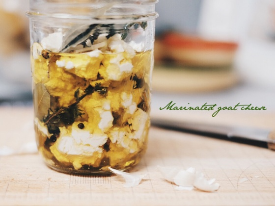 marinated-goat-cheese
